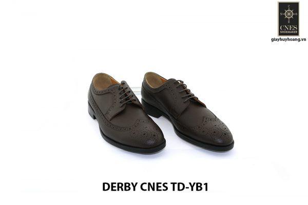 [Outlet Size 40] Giày tây nam không sợ nhăn Derby Cnes TD-YB1 001