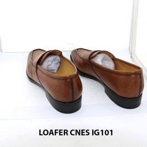 [Outlet size 44] Giày lười nam cao cấp loafer Cnes IG101 0004