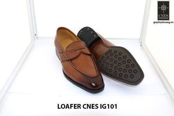 [Outlet size 44] Giày lười nam cao cấp loafer Cnes IG101 0003
