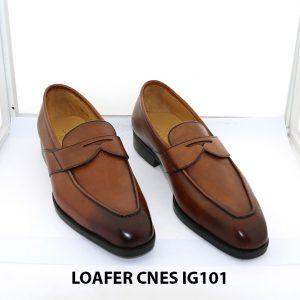 [Outlet size 44] Giày lười nam cao cấp loafer Cnes IG101 0001