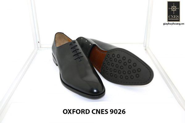 [Outlet Size 43] Giày tây nam đen wholecut Oxford Cnes 9026 003