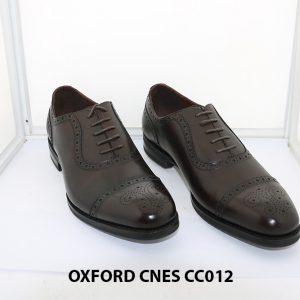 [Outlet size 40+41+43] Giày da nam Oxford Cnes CC012 002