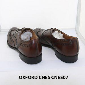 [Outlet Size 42] Giày tây nam thủ công Oxford CNES CNES07 004