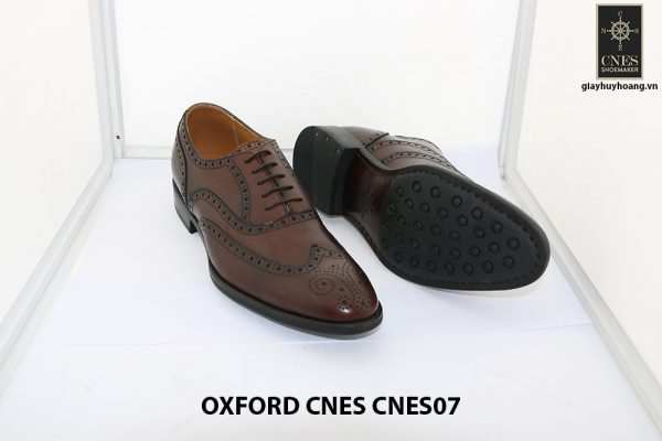 [Outlet Size 42] Giày tây nam thủ công Oxford CNES CNES07 003