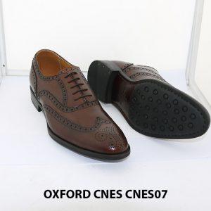Giày da nam Oxford Wingtip CNES 07 003