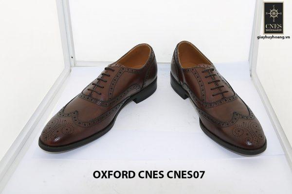 Giày da nam Oxford Wingtip CNES 07 002