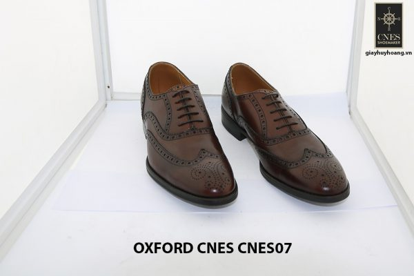 [Outlet Size 42] Giày tây nam thủ công Oxford CNES CNES07 001