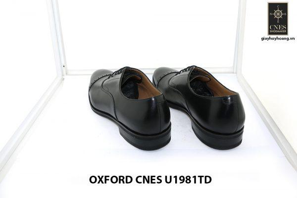 [Outlet size 40] Giày da nam captoe Oxford Cnes U1981TD 004