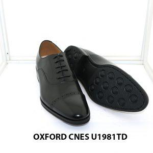 [Outlet size 40] Giày da nam captoe Oxford Cnes U1981TD 003