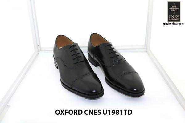 [Outlet size 40] Giày da nam captoe Oxford Cnes U1981TD 001