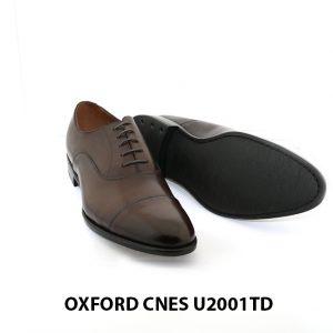 [Outlet Size 42] Giày tây Oxford nam chính hãng Cnes U2001TD 003