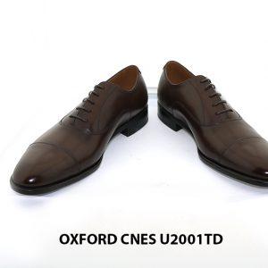 [Outlet Size 42] Giày tây Oxford nam chính hãng Cnes U2001TD 002