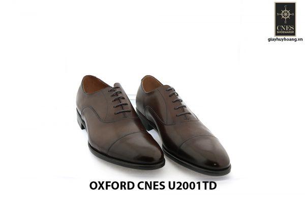 [Outlet Size 42] Giày tây Oxford nam chính hãng Cnes U2001TD 001