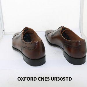 [Outlet size 42] Giày tây nam captoe Oxford Cnes UR305td 004