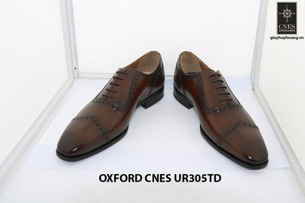 [Outlet size 42] Giày tây nam captoe Oxford Cnes UR305td 002