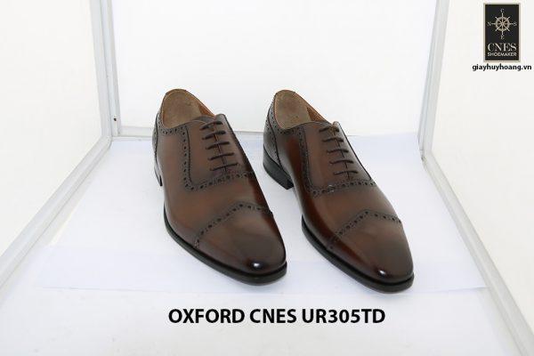 [Outlet size 42] Giày tây nam captoe Oxford Cnes UR305td 001