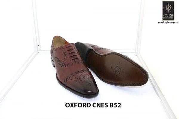 [Outlet Size 44] Giày tây nam lôi cuốn Oxford Cnes B52 0003