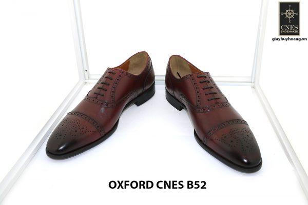 [Outlet Size 44] Giày tây nam lôi cuốn Oxford Cnes B52 0002