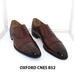 [Outlet Size 44] Giày tây nam lôi cuốn Oxford Cnes B52 0001