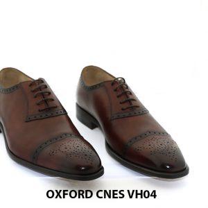 [Outlet 39+42+43] Giày Oxford nam cao cấp Cnes VH04 001