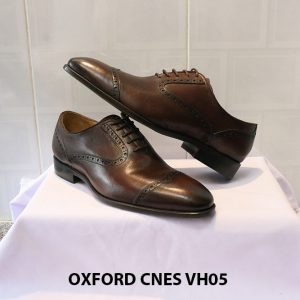 [Outlet] Giày da nam thời trang Oxford CNES VH05 005