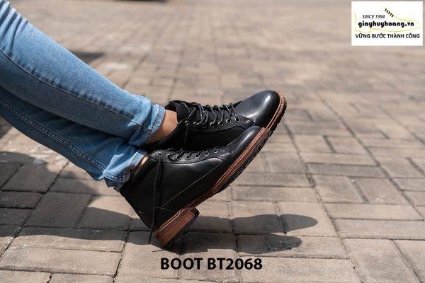 Giày Boot buộc dây nam mạnh mẽ BT2068 012