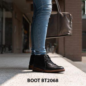 Giày Boot buộc dây nam mạnh mẽ BT2068 010