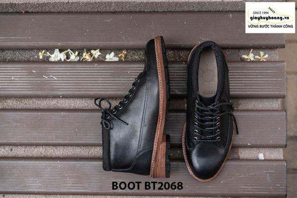 Giày Boot buộc dây nam mạnh mẽ BT2068 009
