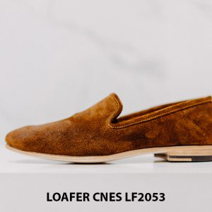 Giày lười nam da lộn chính hãng Loafer LF2053 003