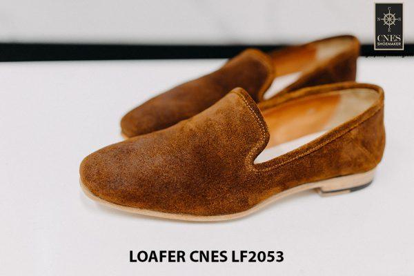 Giày lười nam da lộn chính hãng Loafer LF2053 001