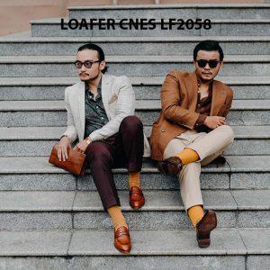 Giày lười nam không dây Penny Loafer LF2058 006