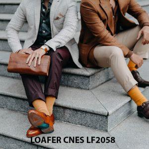 Giày lười nam không dây Penny Loafer LF2058 005