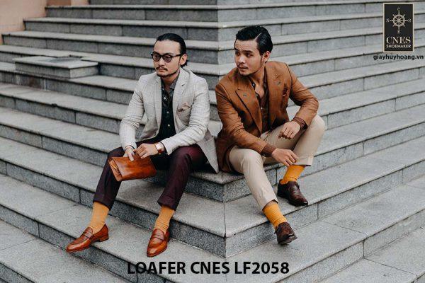 Giày lười nam không dây Penny Loafer LF2058 004
