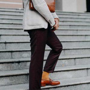Giày lười nam không dây Penny Loafer LF2058 003