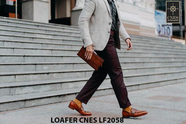 Giày lười nam không dây Penny Loafer LF2058 001