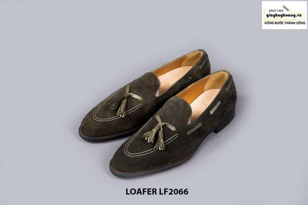 Giày lười nam da lộn phong cách Tassel Loafer LF2066 003