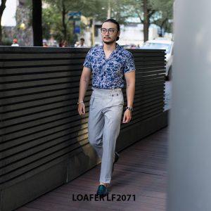 Giày da nam không buộc dây Tassel Loafer LF2071 003