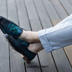 Giày da nam không buộc dây Tassel Loafer LF2071 001