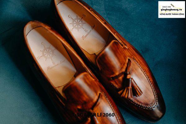 Giày lười nam có chuông đánh màu Patina Tassel Loafer LF2060 002