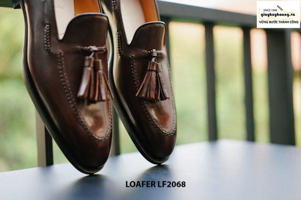Giày lười nam hàng hiệu Tassel Loafer LF2068 006