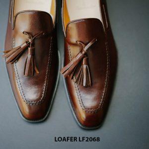 Giày lười nam hàng hiệu Tassel Loafer LF2068 004