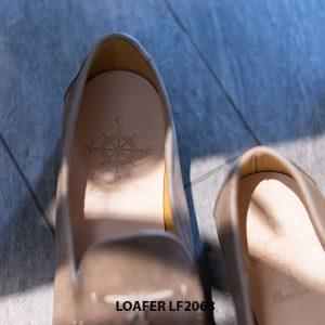 Giày lười nam da lộn mềm Tassel Loafer LF2063 002