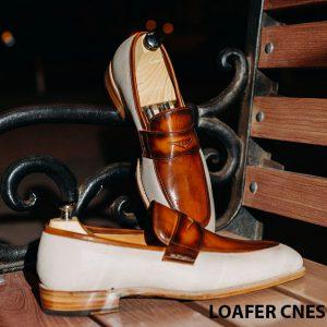 Giày lười nam phong cách Penny Loafer LF2057 005
