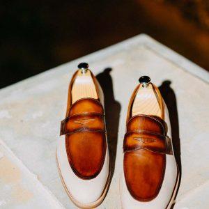 Giày lười nam phong cách Penny Loafer LF2057 004