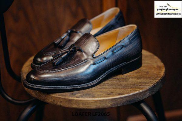 Giày lười nam nam mẫu đẹp Tassel Loafer LF2065 004