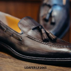 Giày lười nam nam mẫu đẹp Tassel Loafer LF2065 003