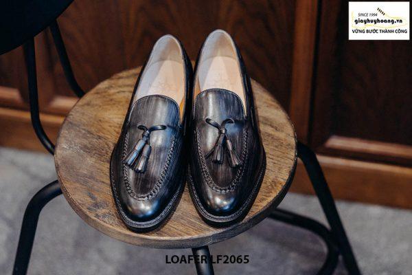 Giày lười nam nam mẫu đẹp Tassel Loafer LF2065 001