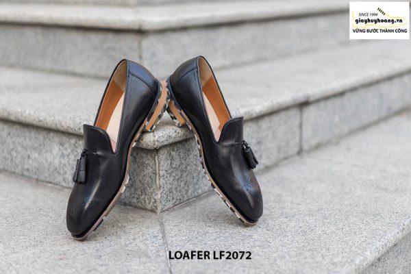 Giày lười da nam Wholecut Tassel Loafer LF2072 003