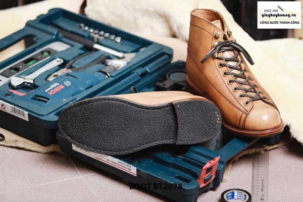 Giày da nam Boot thời trang cá tính BT2078 007