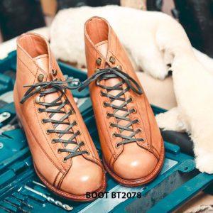 Giày da nam Boot thời trang cá tính BT2078 004